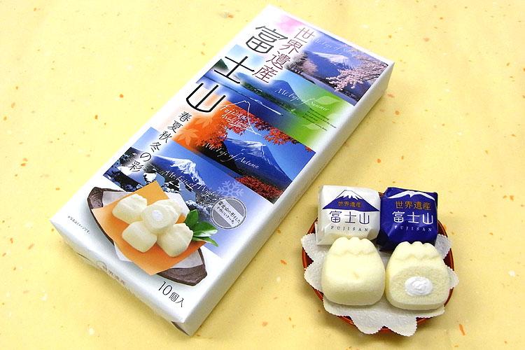 春夏秋冬 富士山ケーキ10個入