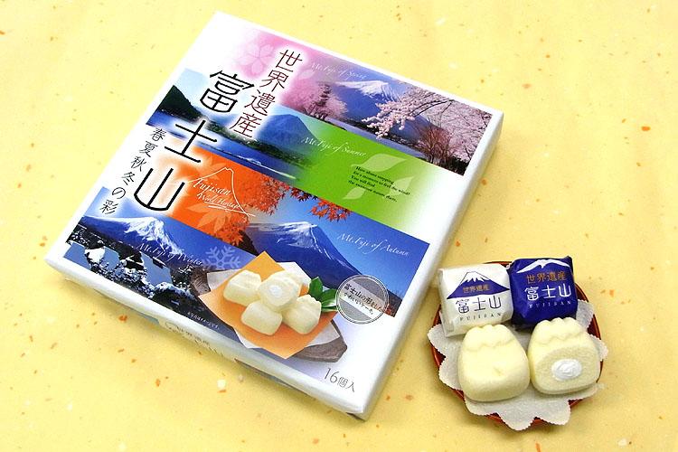 春夏秋冬 富士山ケーキ16個入